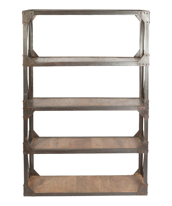 Take a look at this 74'' Industrial Bookshelf on zulily today!