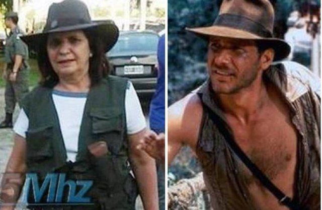 Las reacciones en las redes al disfraz de 'sheriff' de Patricia Bullrich - Diario Registrado