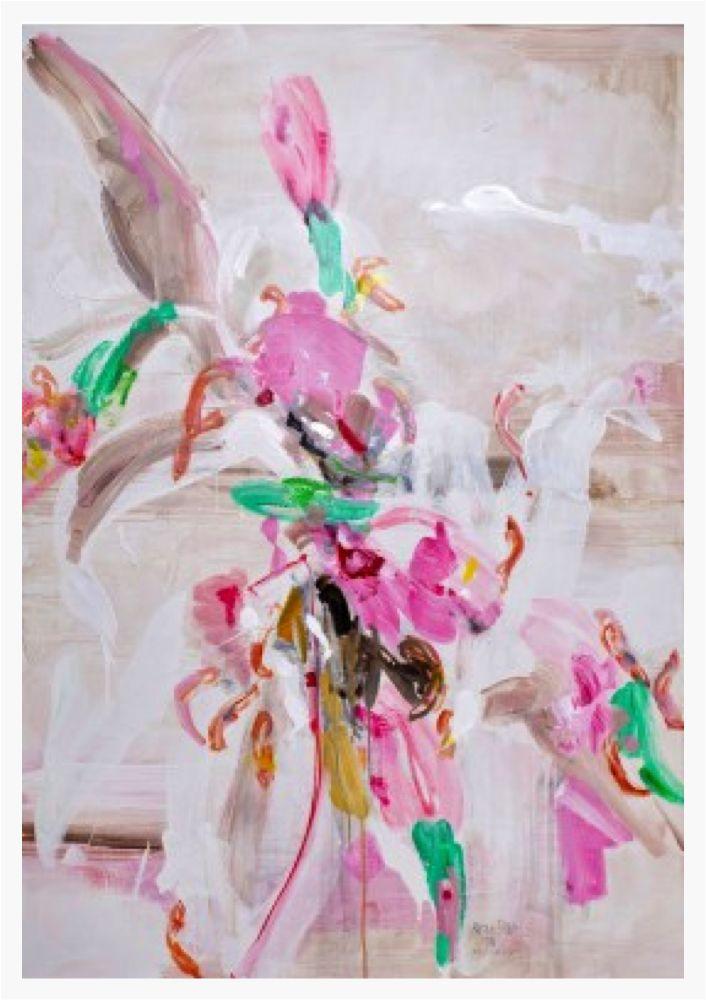 """Pavel Roucka """"les Uns Sur Les Autres""""  Acrylic on canvas 150x100   £10,000"""