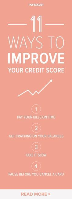 11 Ways to Boost Your Credit Score