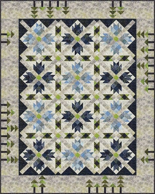 http://www.abbimays.com/Quilt-Kit-TOP-Eldorado-Canyon-By-Whirligig-Designs-in-Batiks_p_6726.html