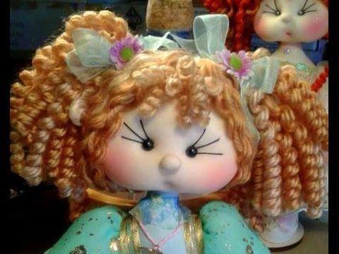 cabello para muñecas
