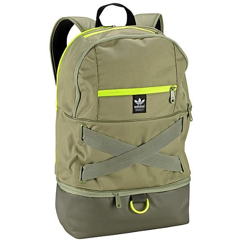 6e6b8774670a Adidas Originals Backpack with neon green touches  LOVE  WANT ...