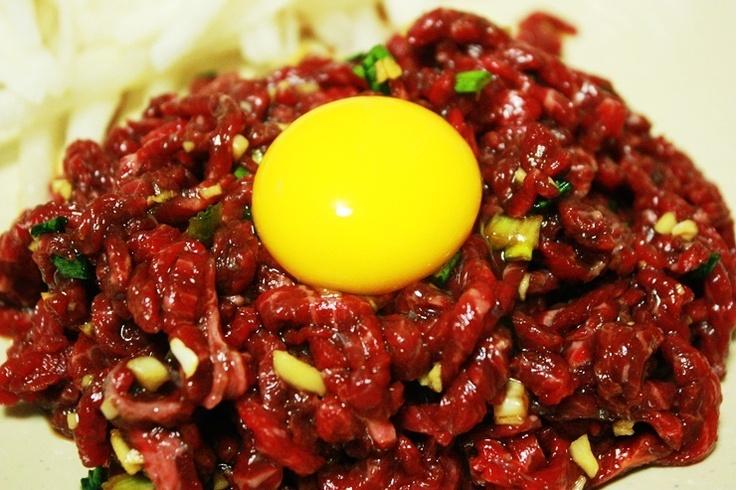 육회 YukHwae: Korean steak tartar