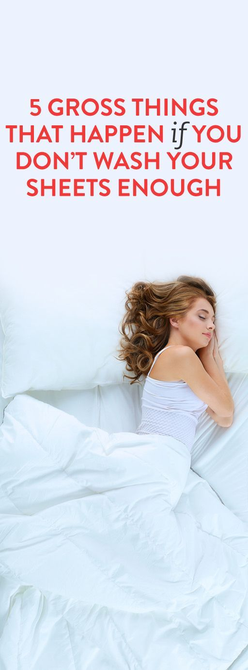 5 gross things that happen if you don't wash your sheets enough