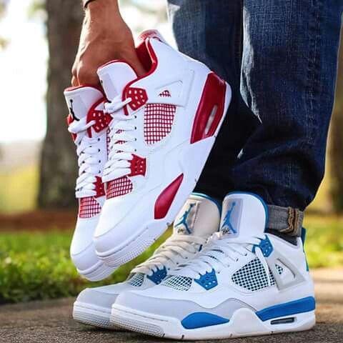 Red or Blue - Jordan 4's