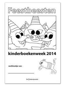 Gratis lesmateriaal Feestbeesten Kinderboekenweek 2014 - http://onderwijsstudio.nl/lesmateriaal-kinderboekenweek-2014/
