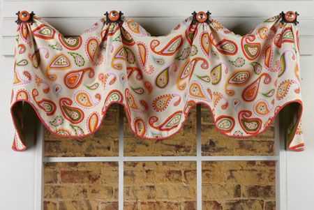 Mims Valance by Pate-Meadow Designs. www.patemeadows.com