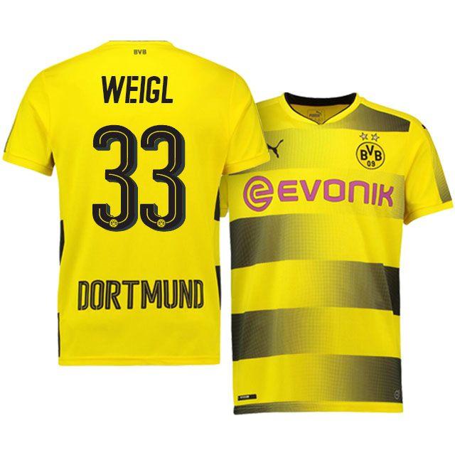 Borussia Dortmund Home Kit 17-18 WEIGL