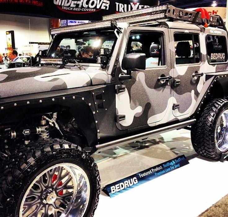 Sema 2013 Bedrug Jeep LasVegas Nevada