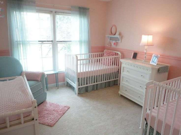 Twin Baby Girl Bedroom Ideas 32 best for the tucker twins! images on pinterest | twin girls