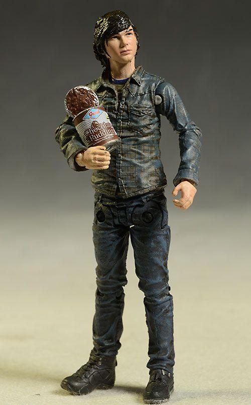 Carl & Mud Walker Walking Dead figures by McFarlane Toys
