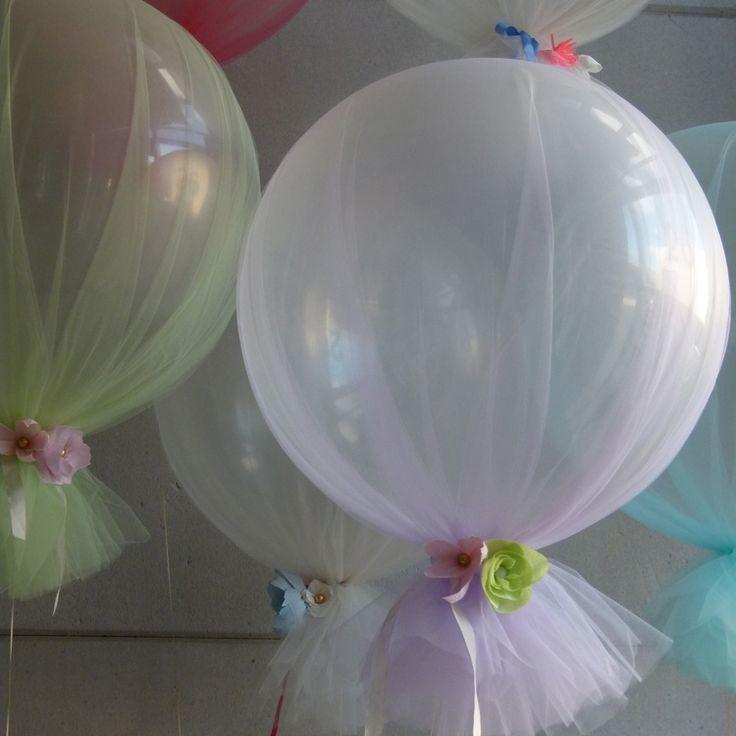 M s de 25 ideas incre bles sobre globos de tul en - Bombas de fiesta ...