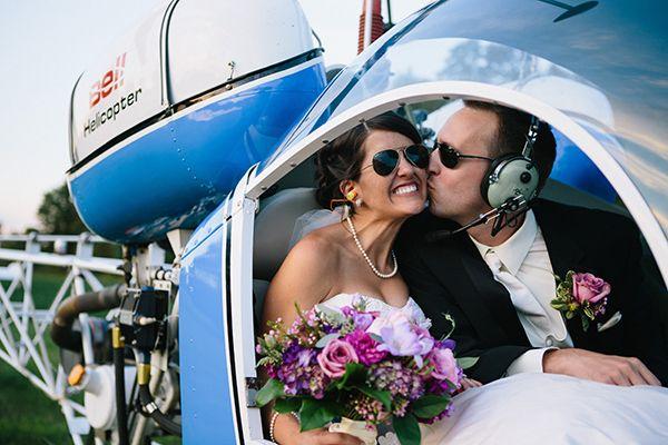 helicopter wedding transportation http://www.weddingchicks.com/2013/10/23/equestrian-wedding/: