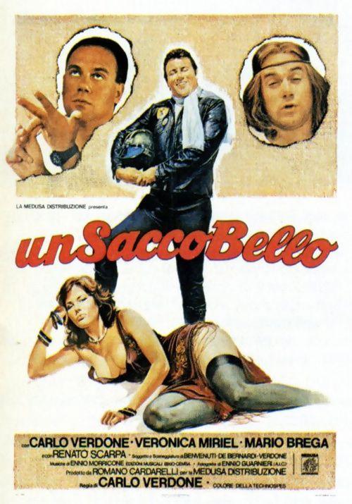 Un Sacco Bello (Fun is Beautiful) by Carlo Verdone (1980), a comedy set on a single day in Rome.