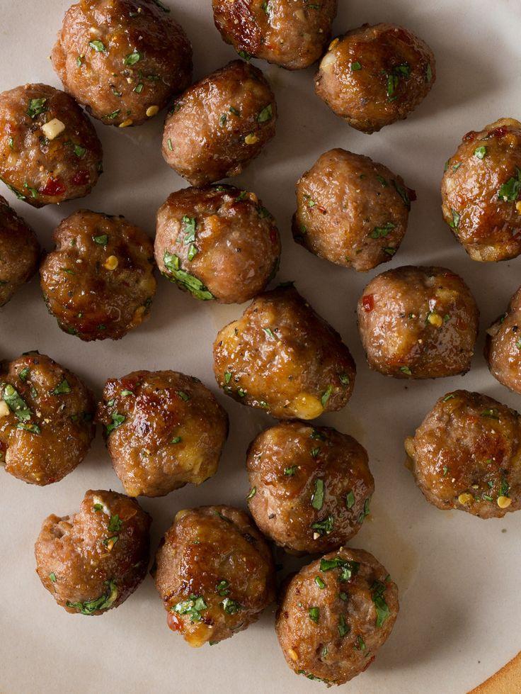 Ginger Garlic Cocktail Meatball appetizer recipe