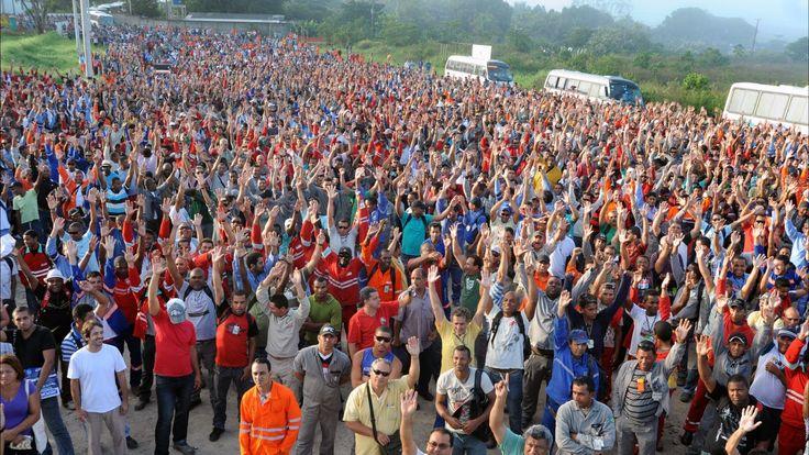 O que exigem os 22 mil operários em greve no COMPERJ