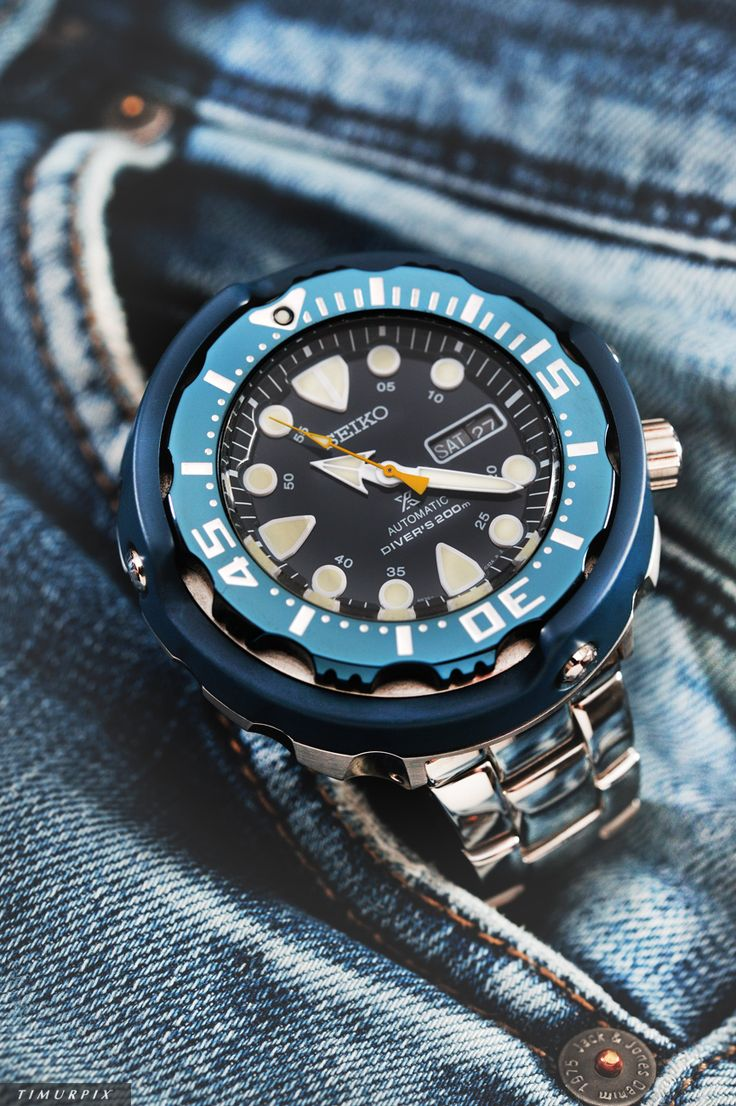 SEIKO TUNA Prospex SRP653 - 50th Anniversary Diver. Photo by Timurpix