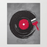 Popular Digital Stretched Canvases | Society6