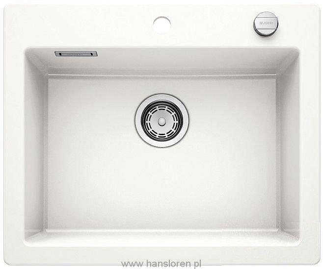PALONA 6 Blanco Zlewozmywak ceramiczny biały połysk - 520922  http://www.hansloren.pl/Zlewozmywaki-ceramiczne