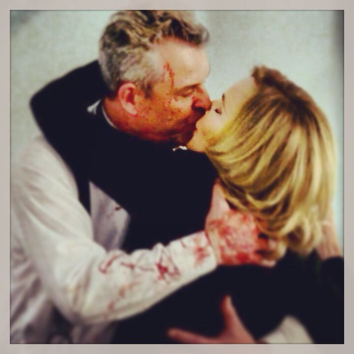 """""""I love you more than jazz baby"""" ~ Axeman (Danny Huston) to Fiona (Jessica Lange) // AHS: Coven"""