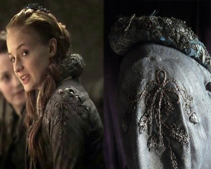Sansa banquet broderies