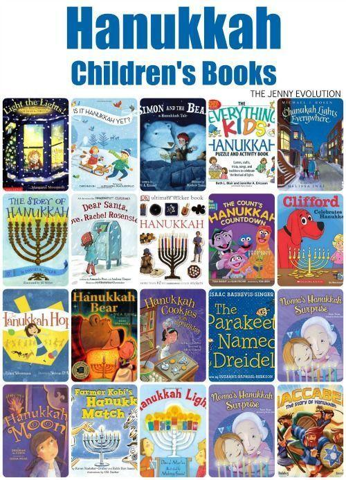 Hanukkah Children's Picture Books | The Jenny Evolution