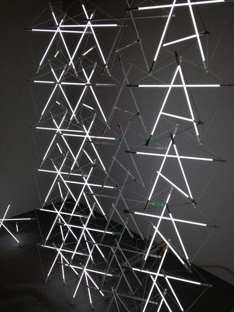 Castor light sculpture