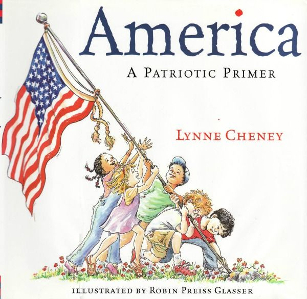 America Patriotic Primer, by Lynne Cheney ~ 4th of July activities for kids by HowToHomeschoolMyChild.com
