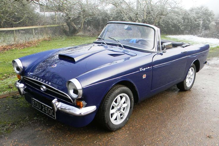 The Tiger was a performance V8 version of the Sunbeam Alpine sports car, designed in part by America... - Newspress