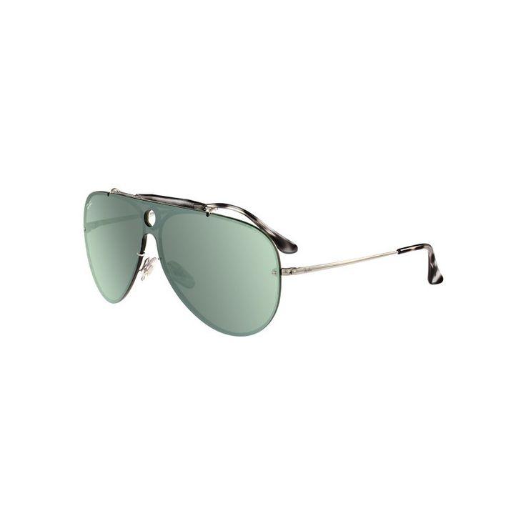 Gafas de sol RAY BAN RB3581 Blaze Shooter Silver - Green Mirror