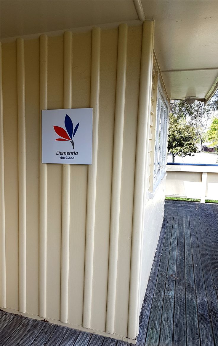 ACM entrance sign for Dementia Auckland by Speedy Signs Newton