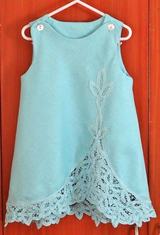 Refashion Co-op: Go Change Your Clothes: Battenberg Lace Jumper