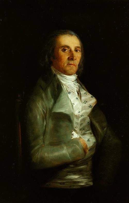 Don Andres Del Peral by Francisco De Goya1795-1798