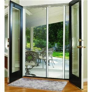 94 best home building supplies images on pinterest for Interior retractable screen door