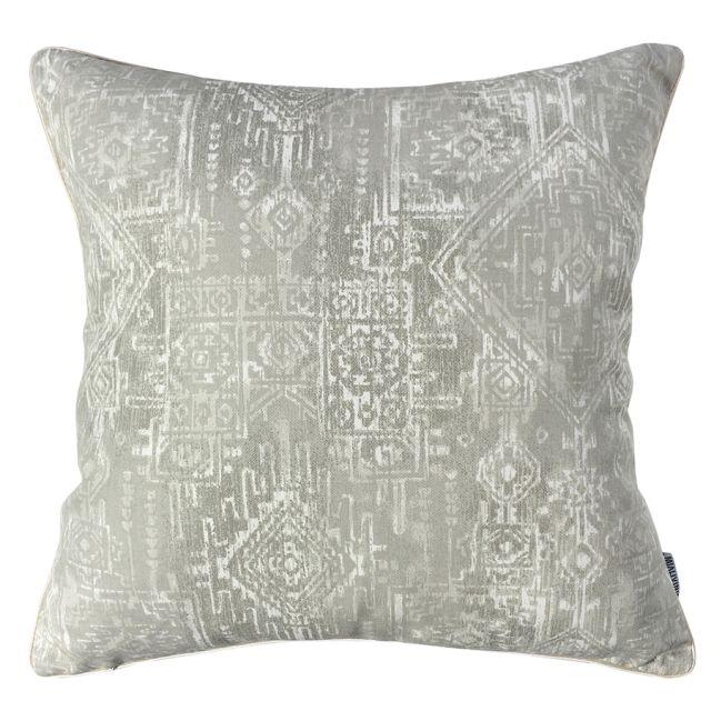 Aztec Grey Pillow #pillows #throwpillow #interiors #homedecor #cushions #mialiving