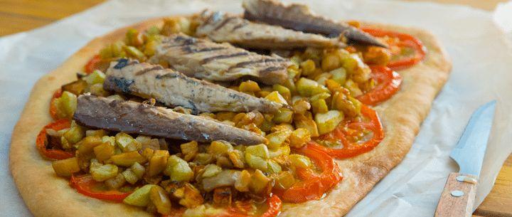 Recetas Cocina mediterranea | Receta Coca de Verduras – Coca de Trampó