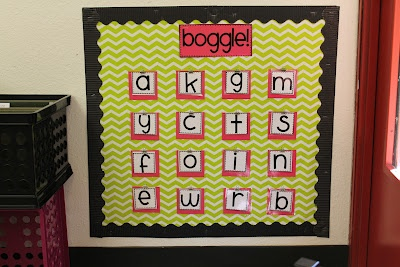 Teaching with Hope: BOGGLE Board dilemma---solved!
