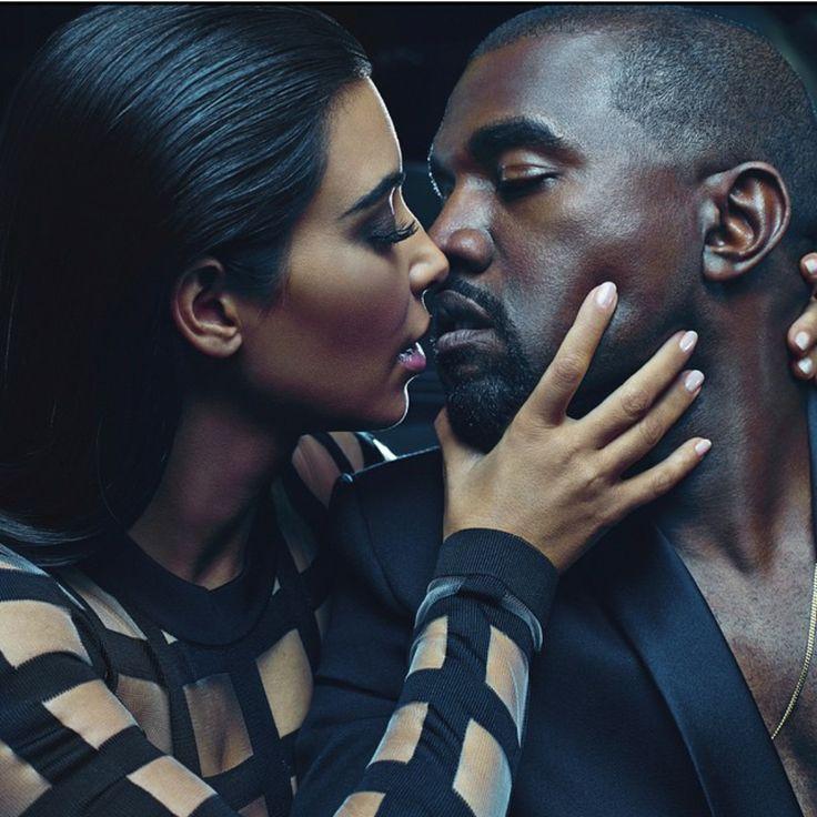 PhotoShoot: Kim Kardashian and Kanye West For Balmain Menswear ...