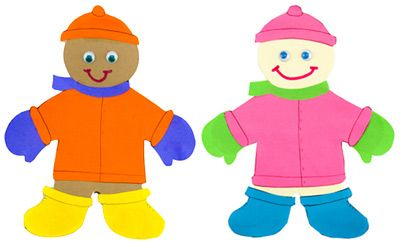 Paper Doll Winter Craft