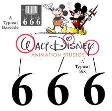 Walt Disney 6 6 6 logo!! No more of our hard earned $ going out to Disney! They're a rip off anyways!