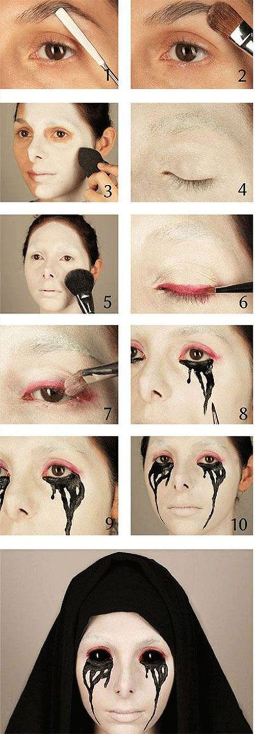 25-step-by-step-halloween-makeup-tutorials-for-beginners-2016-3