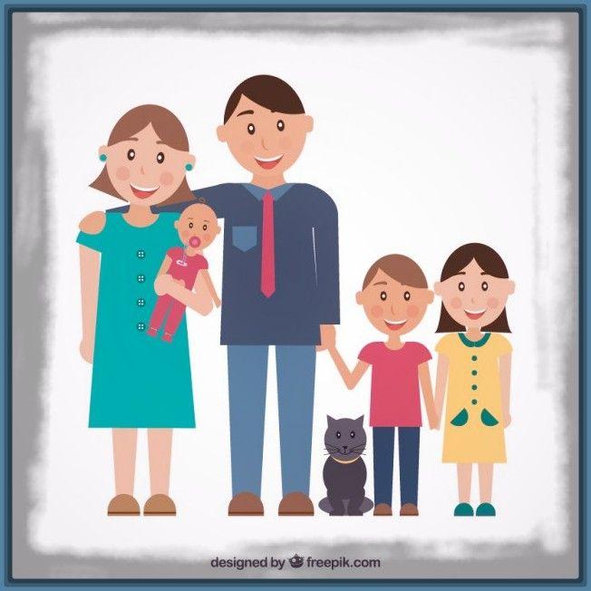 Imagenes de familia felices para niños