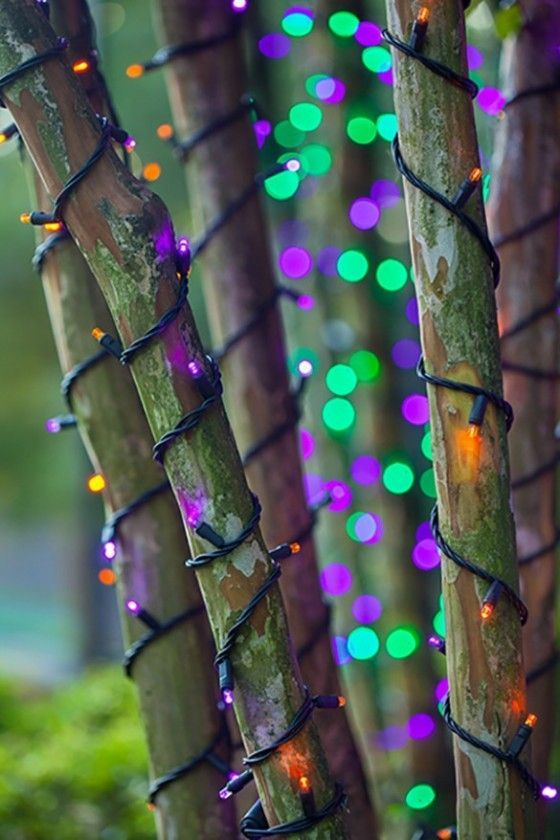 halloween lights and decorations reimagined from christmas