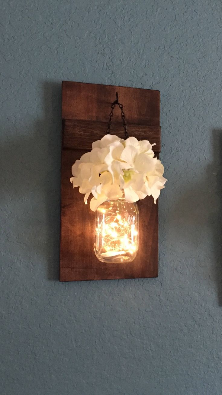 The 25 best mason jar sconce ideas on pinterest mason jar the 25 best mason jar sconce ideas on pinterest mason jar lanterns rustic wood and rustic lanterns arubaitofo Gallery