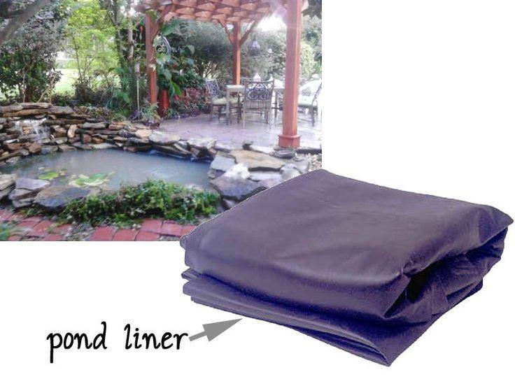 18 best pond ideas images on pinterest garden fountains for Best koi pond liner