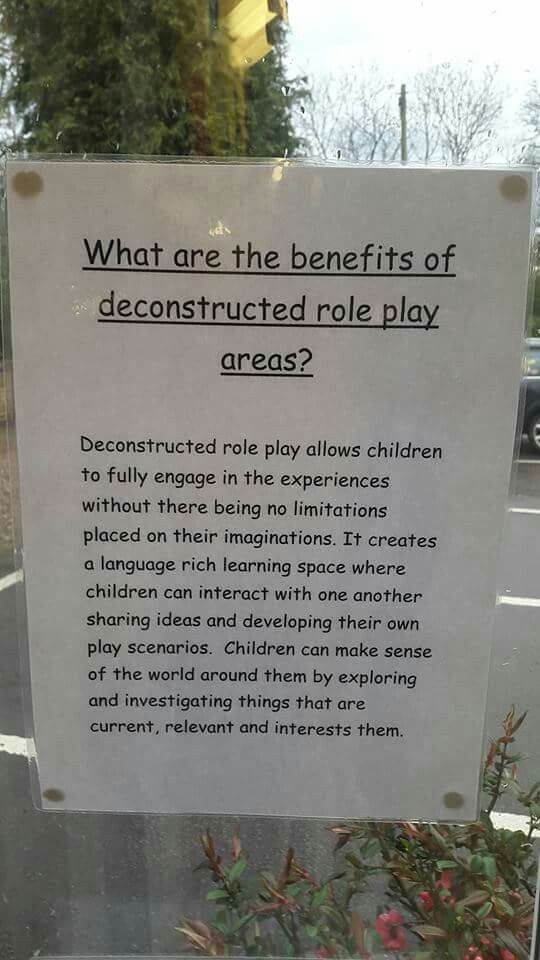 Deconstructed role play