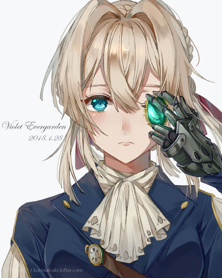 113 Best Violet Evergarden Images On Pinterest