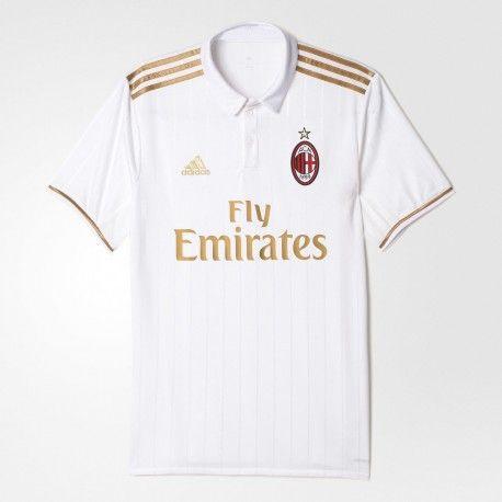 Maillot AC Milan 2016-2017 Pas Cher Extérieur