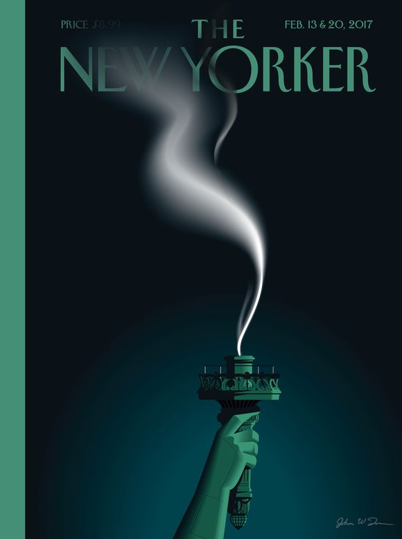 Cover of the Day: The New Yorker, February 13-20, 2017